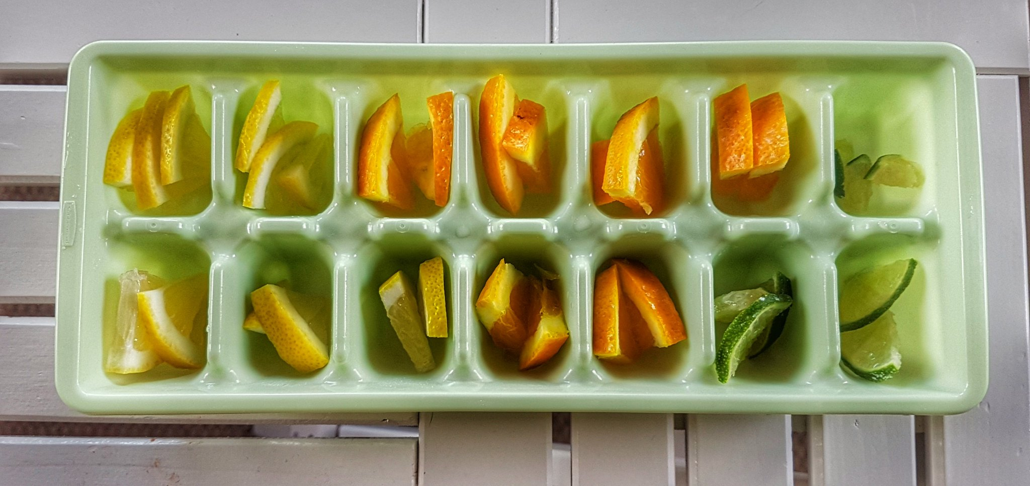 Infused Water Ice Cubes