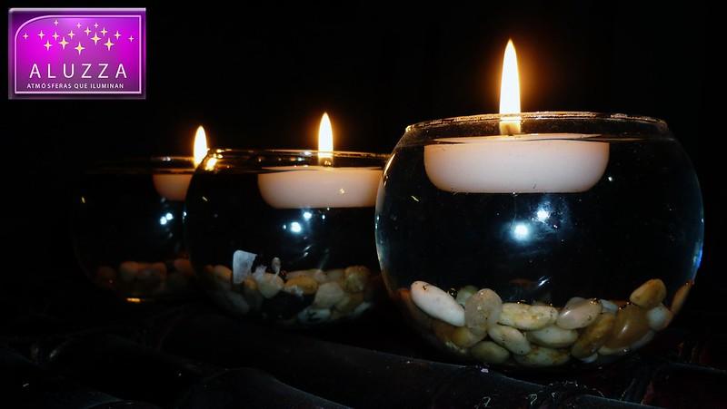 vela flotante aluzza