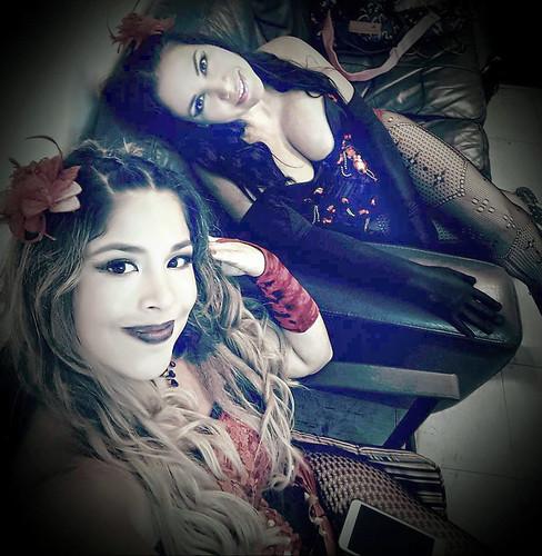 cosplayers peruanas sexy costume