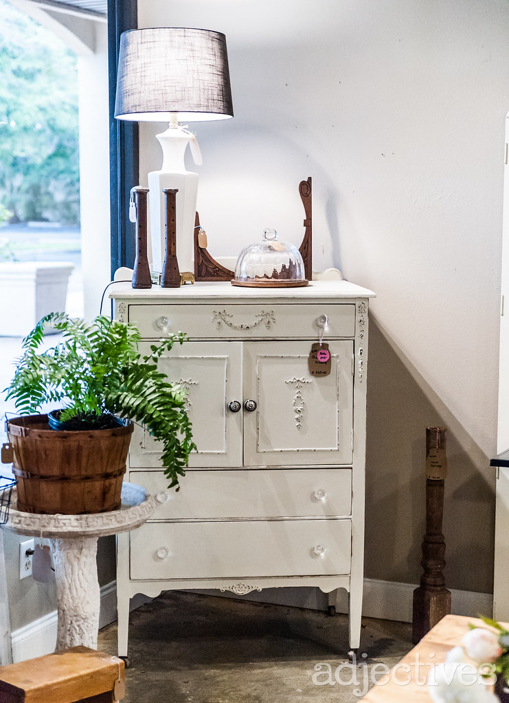 Vintage dresser, plant stand decor items in Altamonte by The Collection Agency