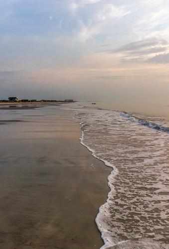 ameliaisland florida jackkennard nikon nikond5200 sunrise water beach lowtide meditation sky travel walkingmeditation waves usa sand sea ocean shore nature
