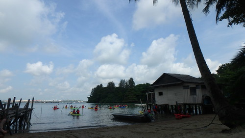 Kayaking with Asian Detours, Pesta Ubin 2017