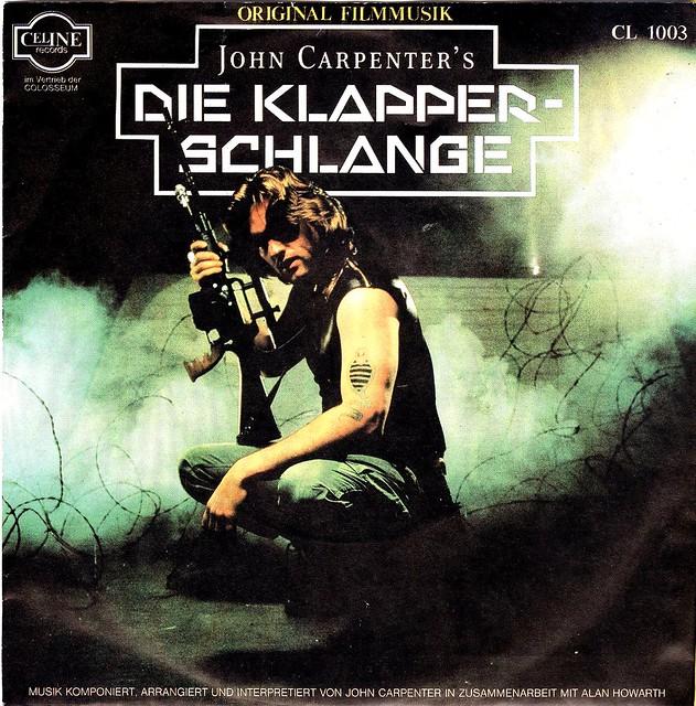 Escape From New York - Die Klapperschlange - OST - D - 1981