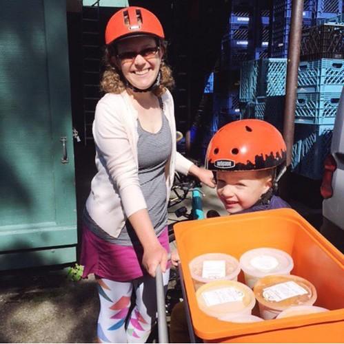 Volunteering by Bike