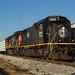 CN Q195 at Mill St Yard Jackson MS