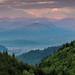 Carpathian Mountains at Sunset, Brasov (Ian Tulloch)
