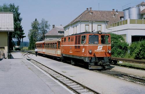 ÖBB Schmalspur in den 1990er Jahren
