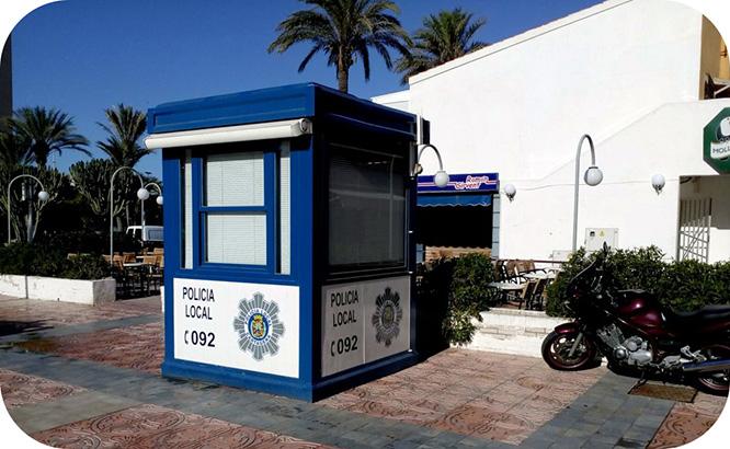 La Policía Local habilita un punto de atención al ciudadano en la Plaza Bohemia