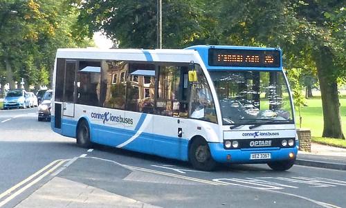 XEZ 3357 'Harrogate Coach Travel'  Optare Solo on 'Dennis Basford's railsroadsrunways.blogspot.co.uk