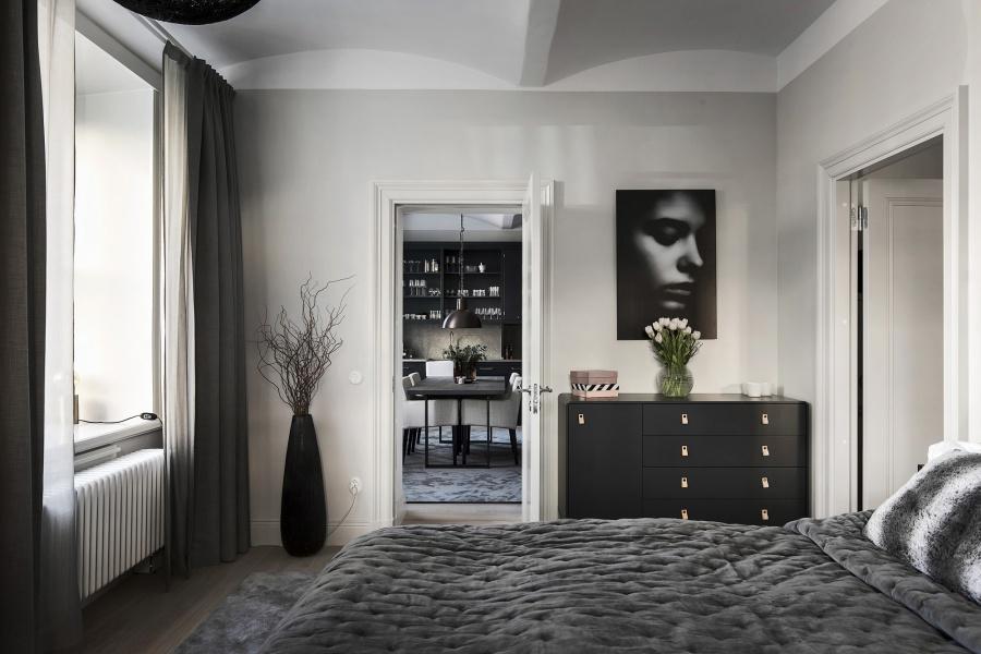 Modern Glamorous Scandinavian Apartment