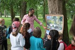 Une journée autour du thème nature et environnement sur le site de Boulogne.