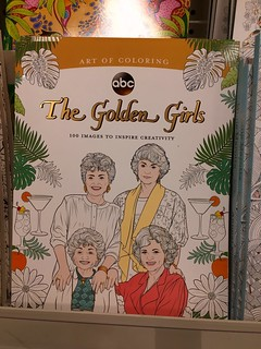 Saw this Golden Girls colour book at Michael's craft store
