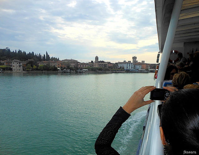 Approaching Torri del Benaco, Lake Garda