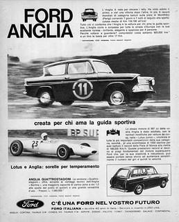 1963 Ford Anglia (Italy)