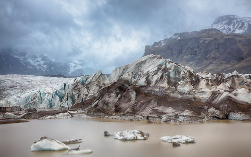 Vatnajokull Icefield Iceland a collaboration with my daughter Kailee Mandel
