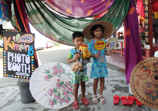 Kampung Photo Booth at Uncle Lim's shop for Pesta Ubin 2017