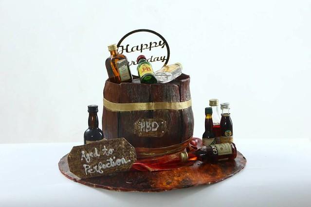 Coffee Cream Cake by Puneet Nagi of The BakeBox n More