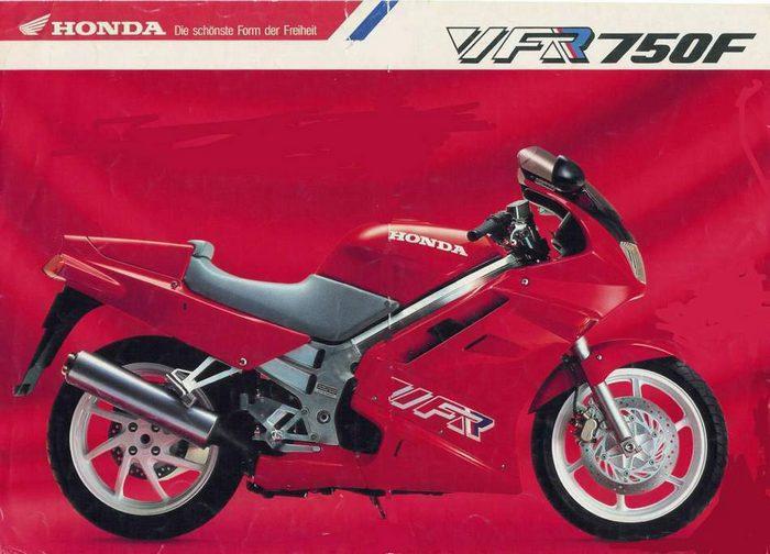 Honda VFR 750 F Carat 1992 - 3