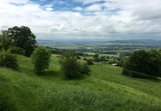 View from the Cotswold Escarpment