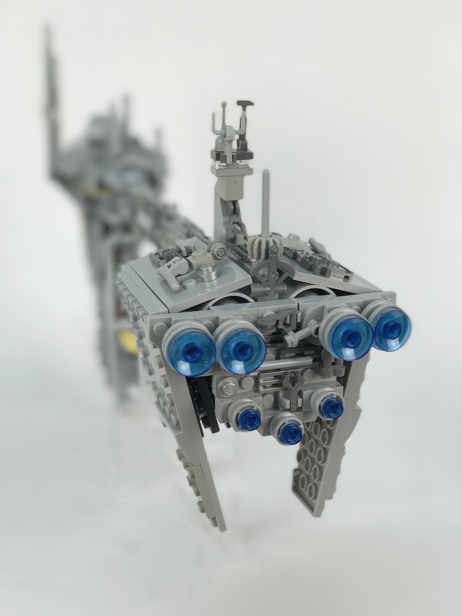 Nebulon-B Frigate rear shot