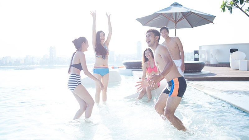 Chillout sessionzzz - Pool party at Novotel Danang Premier Han River 1