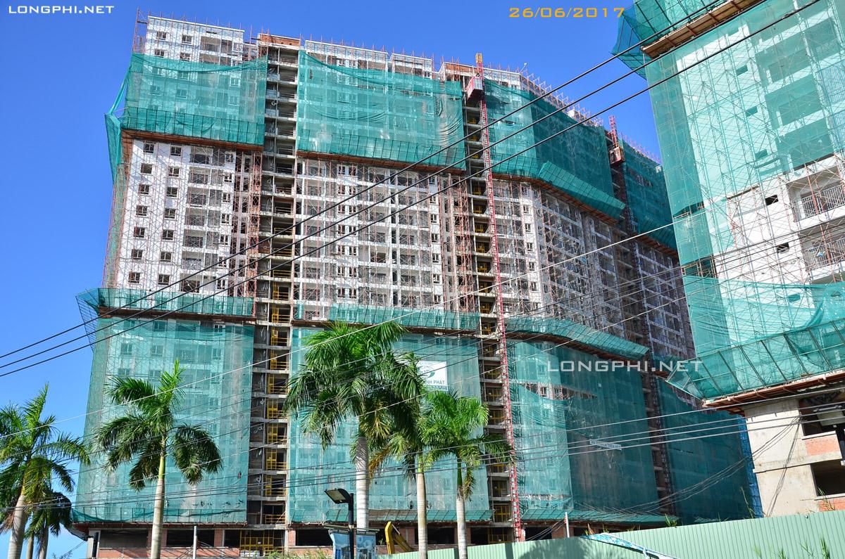 Mặt trong tháp Nam M2 Jamona Apartment - Luxury Home quận 7.