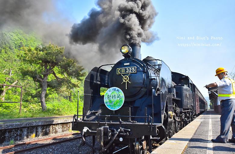 日本福島只見線SL新綠號蒸汽火車鐵道旅遊17