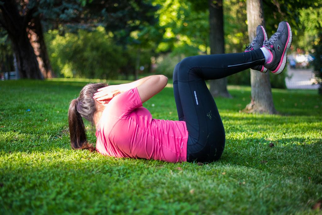 Rutina de abdominales para hacer en casa