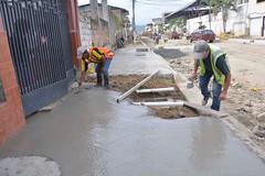 Iniciaron trabajos en tramo de la calle 24 de Mayo