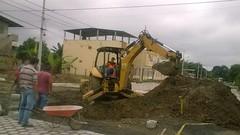 Inicia la construcción de pozos de aguas lluvias en calle San Rafael