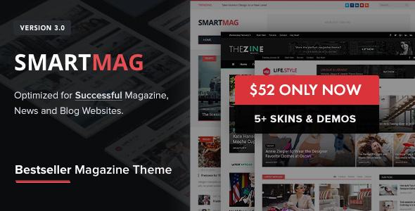 SmartMag v3.1.0 - Responsive & Retina WP Magazine