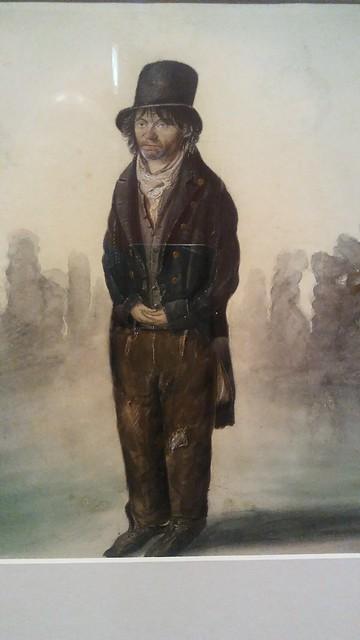 Little John the Colchester lunatic c 1823