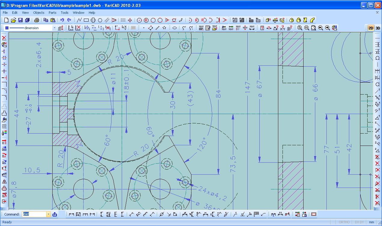 Designing with VariCAD 2010 v2.03 full crack