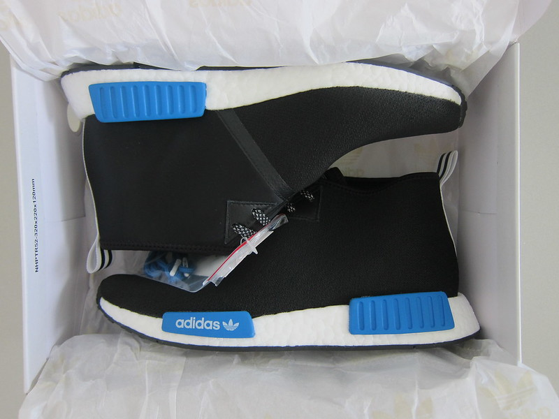 Adidas Originals x PORTER NMD C1 Shoes - Box Open