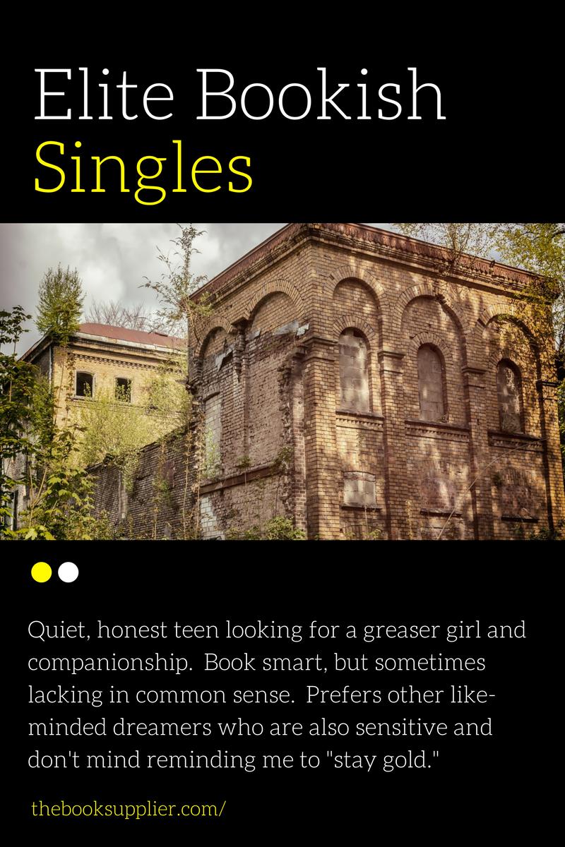 Elite Bookish Singles - Ponyboy