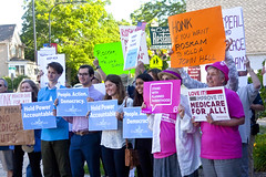 Protest Against Congressman Peter Roskam 6th District Illinois Who Voted for Trumpcare 6-20-17 1590