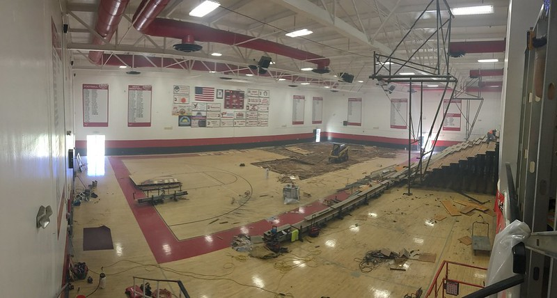 San Jacinto Campus Gym project July 2017