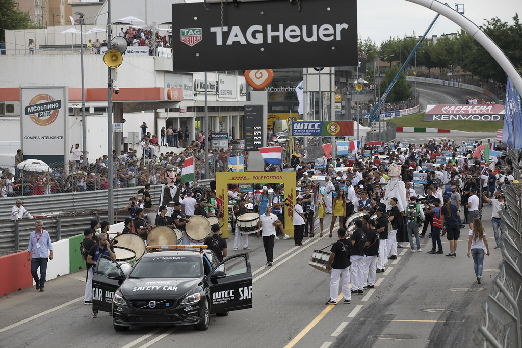 grille de depart starting grid during the 2017 FIA WTCC World Touring Car Championship race of Portugal, Vila Real from june 23 to 25 - Photo Gregory Lenormand / DPPI