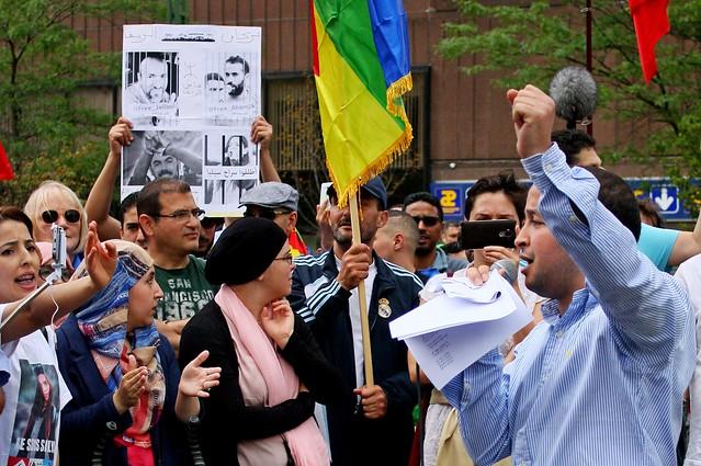 Solidariteit met beweging in Marokko // Foto's: Liesbeth