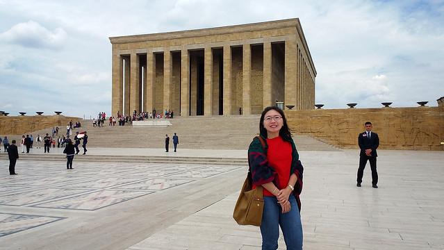 20160511_134558 Ataturk Mausoleum Lucy1