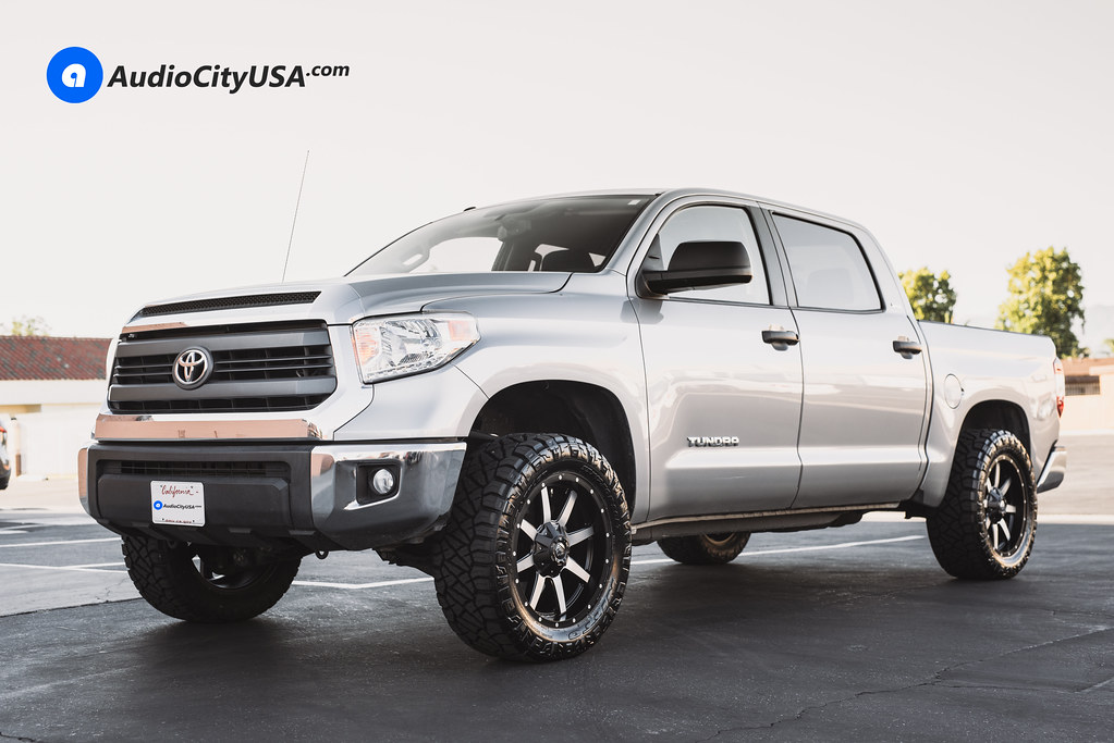 "2015 Toyota Tundra Crew Max   20"" Fuel Wheels Maverick ..."