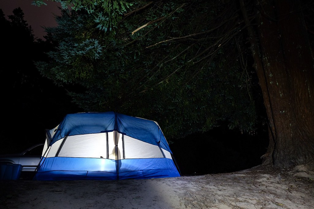 Camping in Mendocino