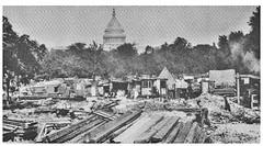 Bonus Army camps on Pennsylvania Avenue: 1932