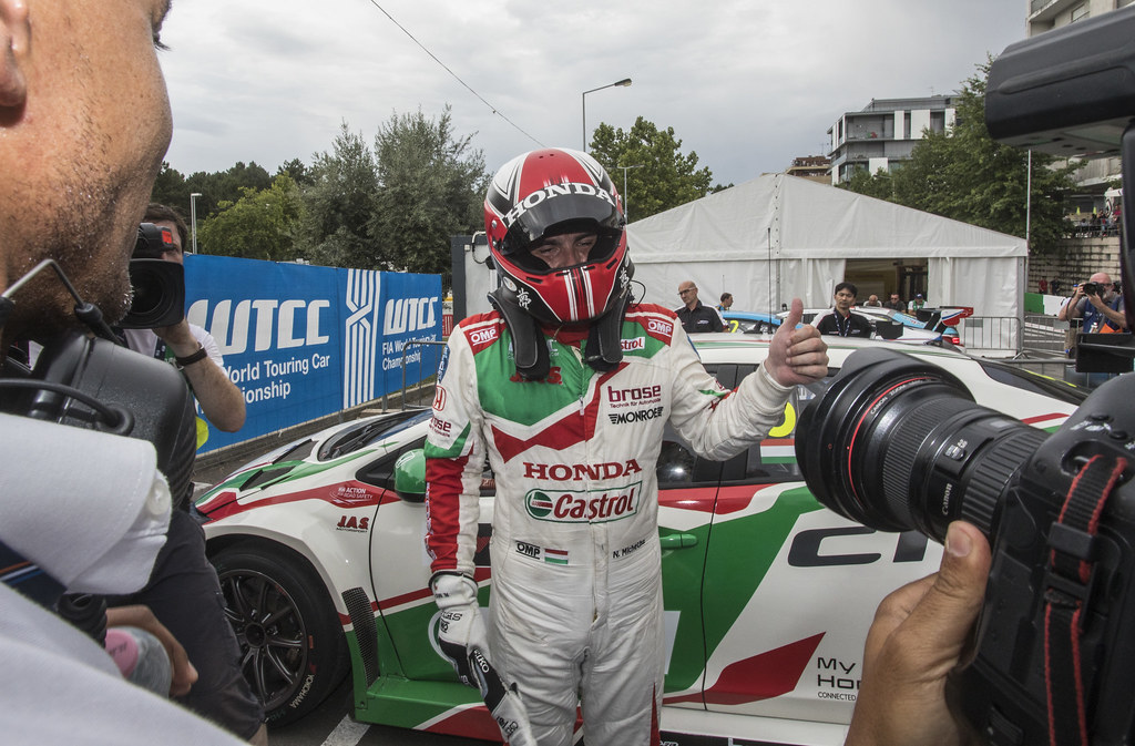 MICHELISZ Norbert (hun) Honda Civic team Castrol Honda WTC ambiance portrait during the 2017 FIA WTCC World Touring Car Championship race of Portugal, Vila Real from june 23 to 25 - Photo Gregory Lenormand / DPPI
