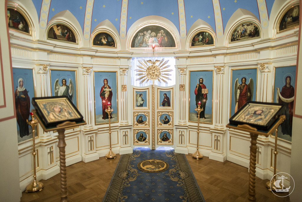 27 июня 2017, Литургия в храме особняка Юсуповых / 27 June 2017, Liturgy in the church of the Yusupov Palace