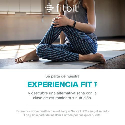 Experiencia Fitbit en Parque Naucalli