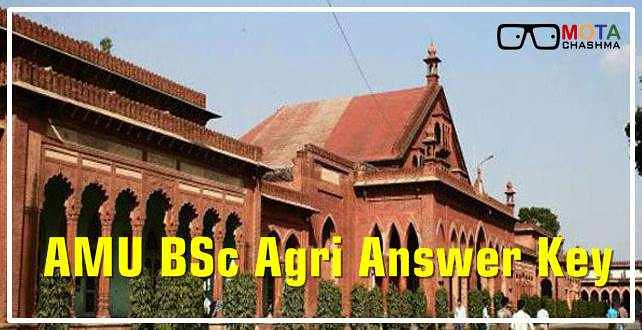 AMU BSc Agri Answer Key