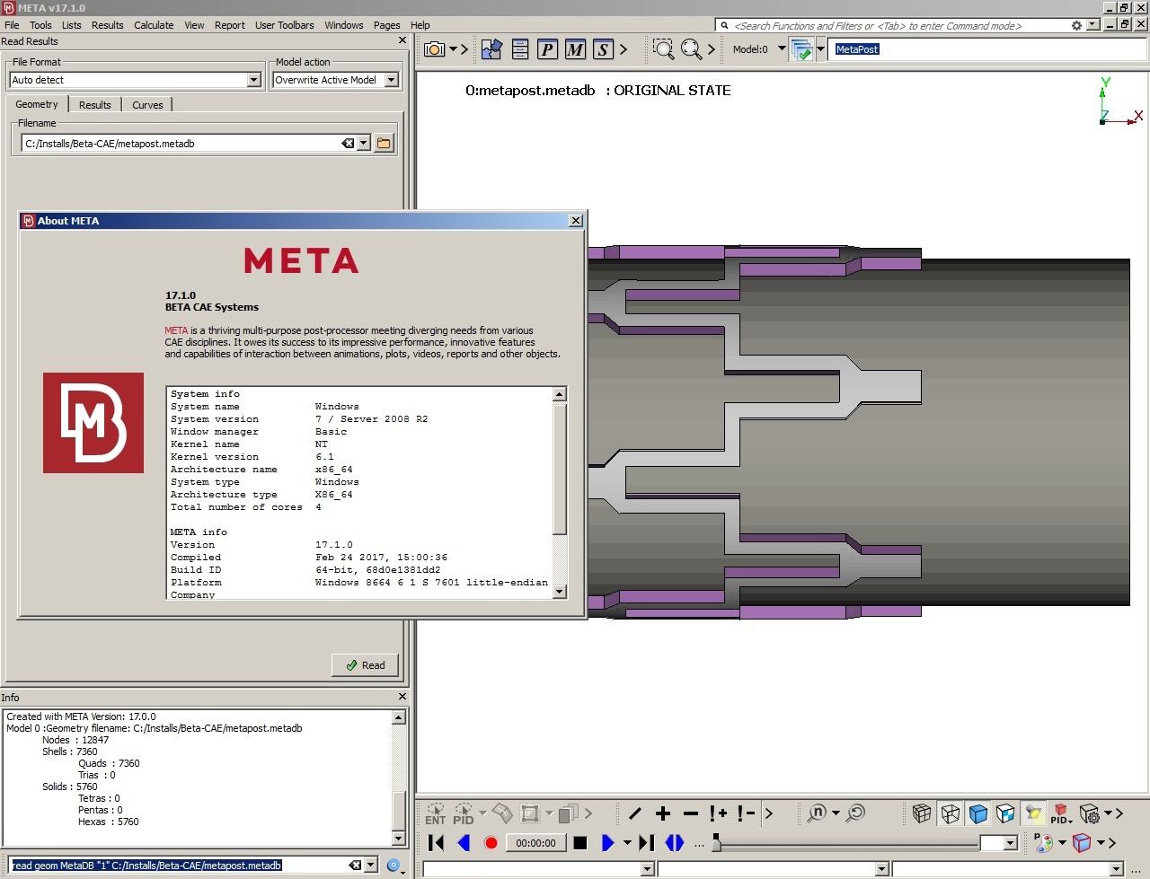 photo BETA CAE Meta Post 17.1.0 64bit full crack