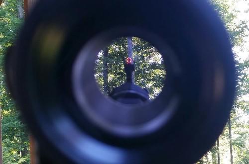 bullseye holographic sight red dot5