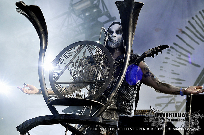 BEHEMOTH @ HELLFEST OPEN AIR  CLISSON FRANCE 17 JUIN 2017 35718146076_a86a930f00_c